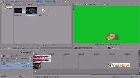 sony vegas pro tutorial using the chroma keyer effect use the chroma keyer in sony vegas pro visihow