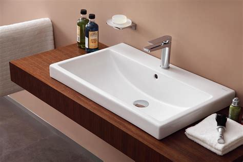 White Vessel Bathroom Sink 70cm Vessel Basin 1 Hole Vessel Basins Basins Products