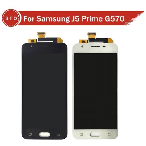 samsung galaxy  prime sm gy lcd  touch screen