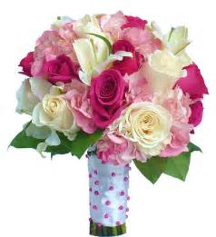 Bridal Bouquets Rose Hydrangea And Casa Blanca Bridal Bouquet 235 00