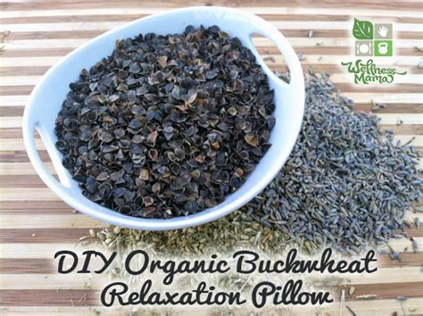 Buckwheat Pillow Diy buckwheat relaxation pillow