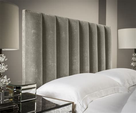 fabric headboard beds vertical upholstered headboard upholstered