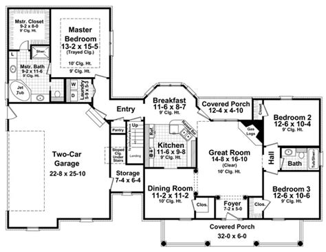 home plan search featured house plan pbh 8094 professional builder