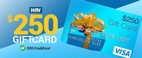 Electronic Visa Gift Card - win a 250 visa gift card