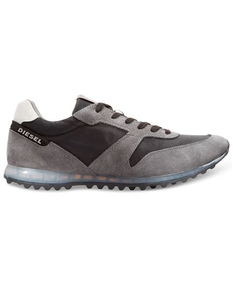 diesel sneakers diesel choplow sneakers in gray for lyst