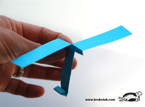 Make A Helicopter Out Of Paper - krokotak diy paper helicopter