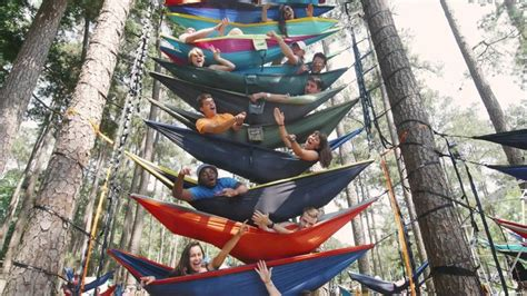 Uf Records Breaking The Hammock Stack World Record At Uf Http