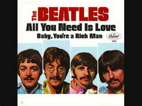 all of you testo all you need is the beatles significato della