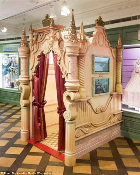 Princess Bedroom Decorating Ideas The Harrods Wendy House That Costs The Same As A Real Home