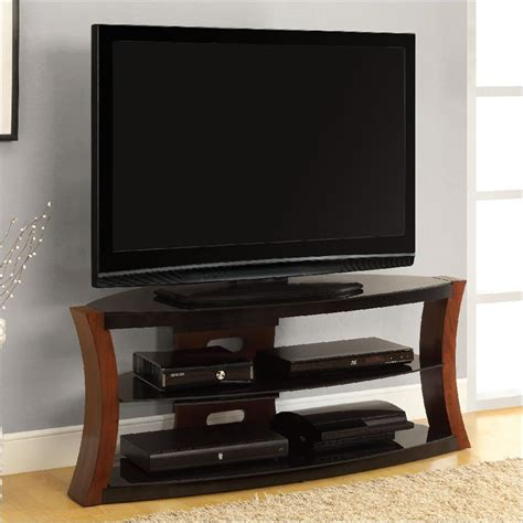 Altra Furniture Tv Stand by Not Available Altra Furniture Bentwood And Glass Tv Stand