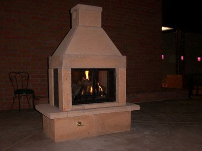 Outdoor Gas Fireplace Burner by Mirage See Through Outdoor Gas Fireplace With Gas