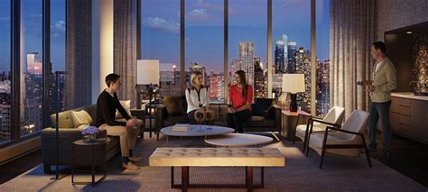 luxury apartment in new york luxury waterfront condominium with expansive views of nyc