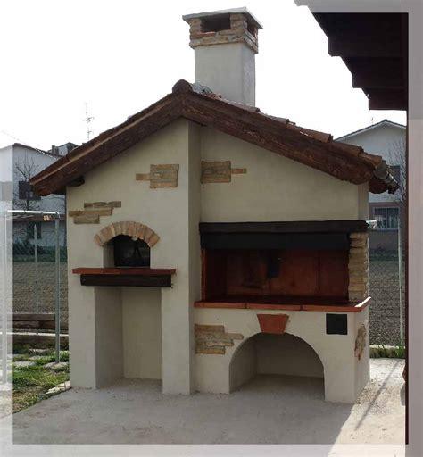cucine da giardino in muratura caminetti originali