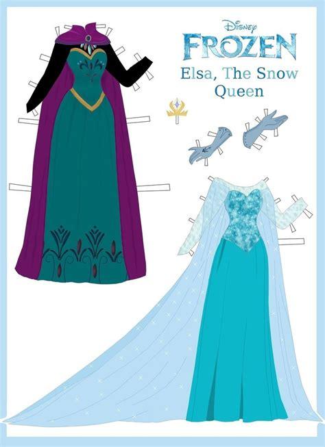 printable frozen paper dolls 25 best ideas about frozen paper dolls on pinterest
