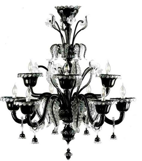 black glass chandeliers chandelier astounding black glass chandelier glass