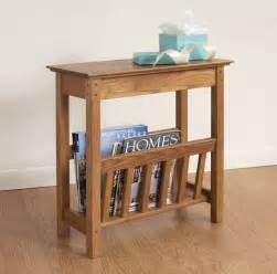 Ideas For Chairside Tables Design Chairside Magazine Rack Hardwood Furniture Manchester Wood