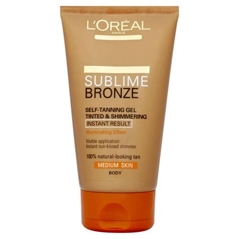Bronze L by L Oreal Dermo Expertise Sublime Bronze Instant Self