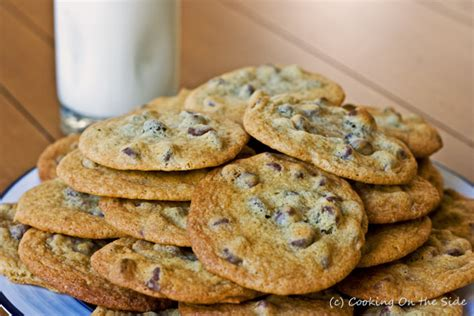 toll house cookie recipe classic chocolate chip cookies cooking on the side