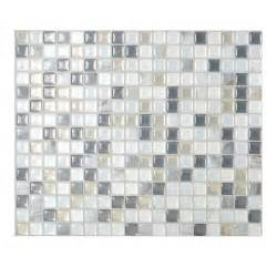 Peel And Stick Mosaic Tile Smart Tiles 9 65 In X 11 55 In Peel And Stick Mosaic
