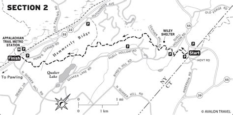 Appalachian Trail Section Maps by Chris Henrick Cartography