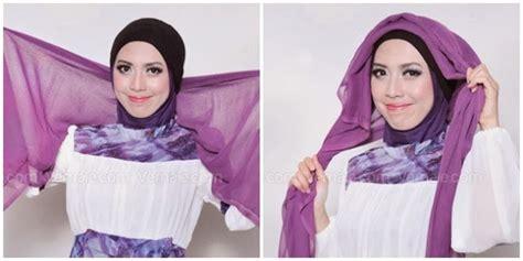 tutorial turban untuk renang tutorial hijab gaya turban kepang aisty derajat