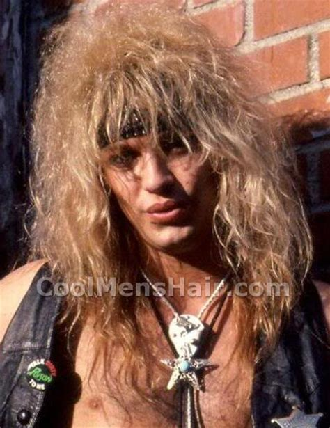 80s rock hairstyles big hair guys bret michaels long hairstyles with