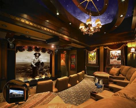 the ultimate movie room custom home theater installation cowboy chic ecoustics com