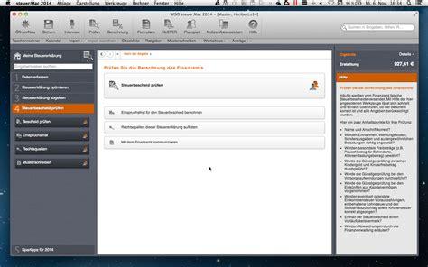 Nachzahlung Musterschreiben Wiso Steuer Mac 2014 F 252 R Steuerjahr 2013 De Software