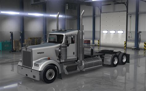 kenworth chassis kenworth w900 day cabin on chassis ats mp mods