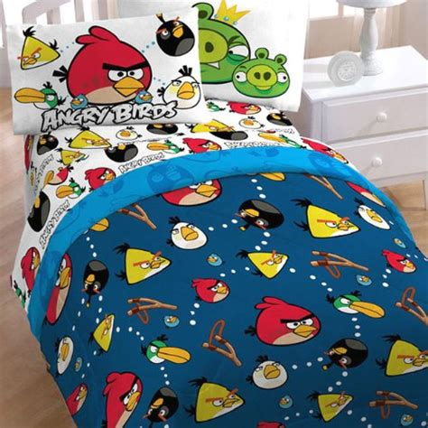 Angry Birds Bed Set Best Angry Bird Bedding Set For Boys 2013 Infobarrel