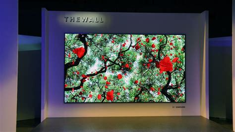 samsung wants you to turn your wall into a tv www unbox ph