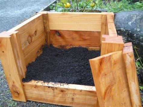 How To Build A Potato Planter Box potato planter box garden