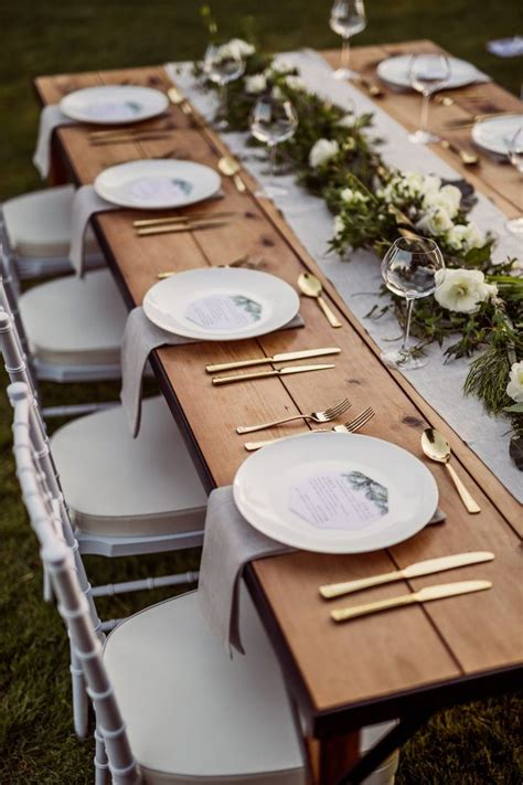 table settings ideas best 25 wedding table settings ideas on pinterest