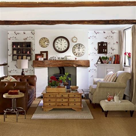 Living Room Design No Salas Estilo Country Ideas Para Decorar Dise 241 Ar Y
