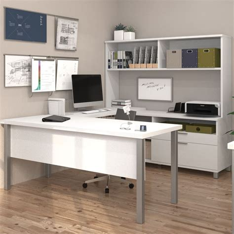 sauder transit collection multi tiered l shaped desk 17 best images about l shaped desks on modern