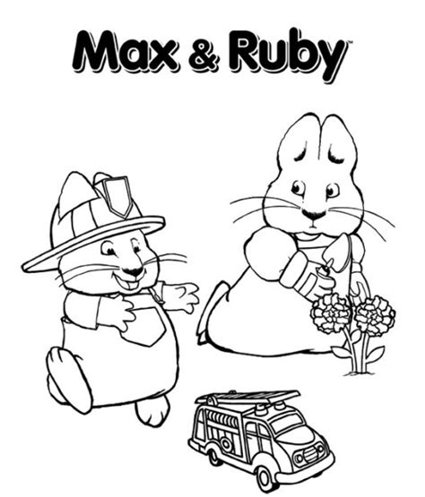 nick jr coloring pages max and ruby max and ruby coloring pages coloring pages