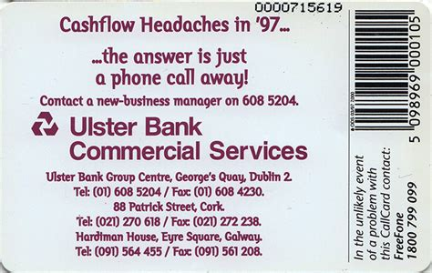 contact ulster bank ulster bank the callcards site