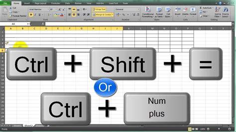 Copenhagen To Queue For Shortcut 6 by Insert Row Shortcut In Excel