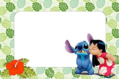 Lilo And Stitch Free Printables And Images Oh My Fiesta In English Free Lilo And Stitch Invitation Template