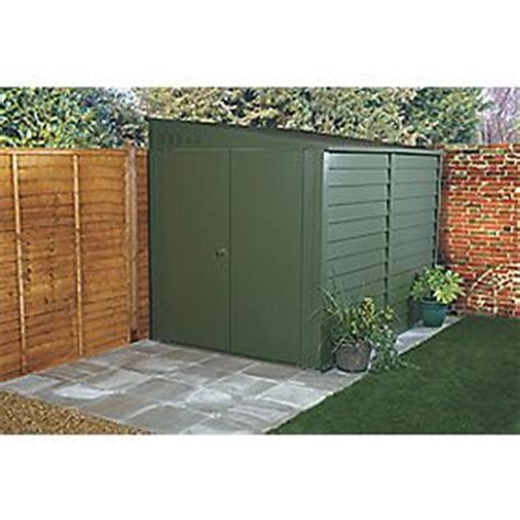 Titan Shed Sizes by Trimetals Titan 960 Door Pent Shed Metal 6 4 X 9