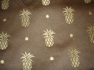 drapery upholstery fabric all 2 yds x 54 pineapple upholstery drapery fabric
