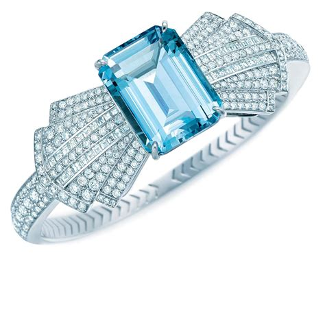 Blue Book Collection aquamarine bow bracelet   Tiffany & Co.   The Jewellery Editor