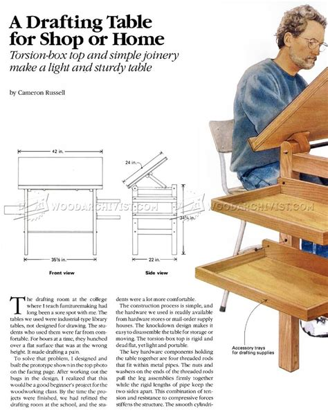 Drafting Table Woodworking Plans 25 Fantastic Drafting Table Woodworking Plans Egorlin