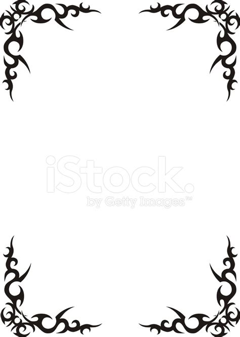 tribal pattern border black and white tribal border design pictures to pin on