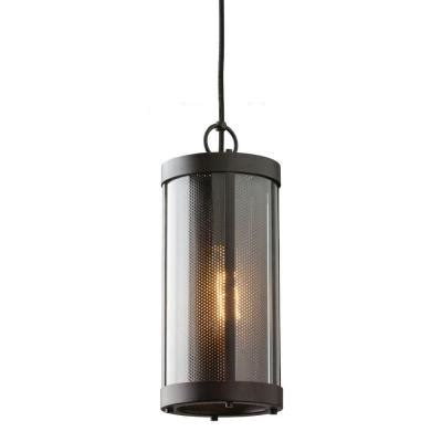 feiss bluffton 1 light rubbed bronze mini pendant