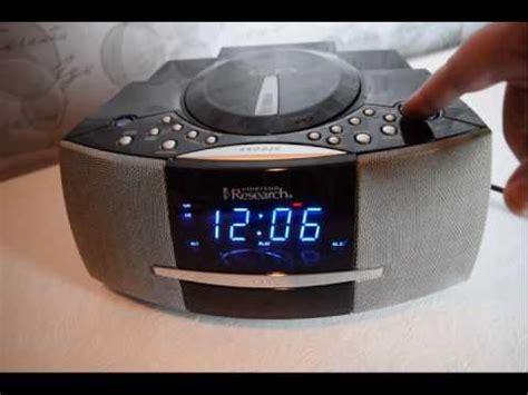 emerson smart set cd radio alarm clock