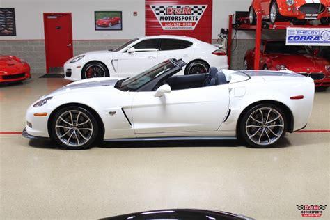 corvette 60th anniversary 2013 chevrolet corvette 60th anniversary 427 convertible