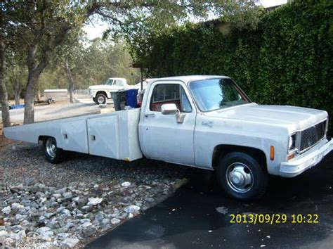 truck bed cer purchase used chevrolet gmc 1ton dually custom car hauler