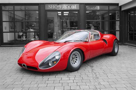 Alfa Romeo 33 Stradale For Sale by 1967 Alfa Romeo Tipo 33 Stradale Continuation