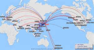 Ana Route Map by Japan Airlines Route Map Related Keywords Amp Suggestions
